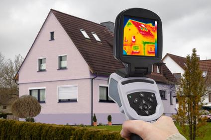 Energie-Analyse mit Infrarot-Kamera
